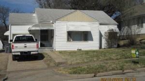 116 W 15th, Emporia, KS–2 bedroom 1 Bath House For Rent