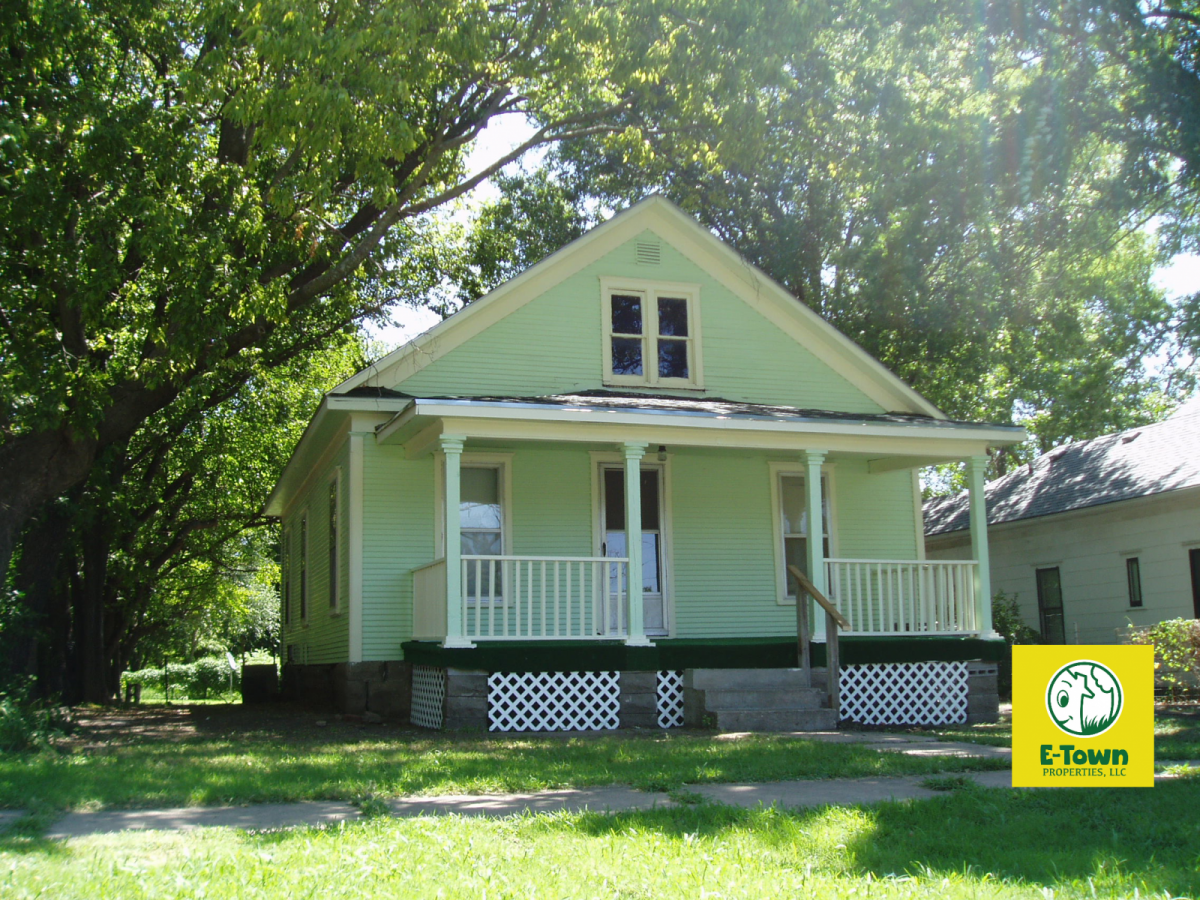 6 Rural Street, Emporia, KS — 2 Bedroom, 1 Bath