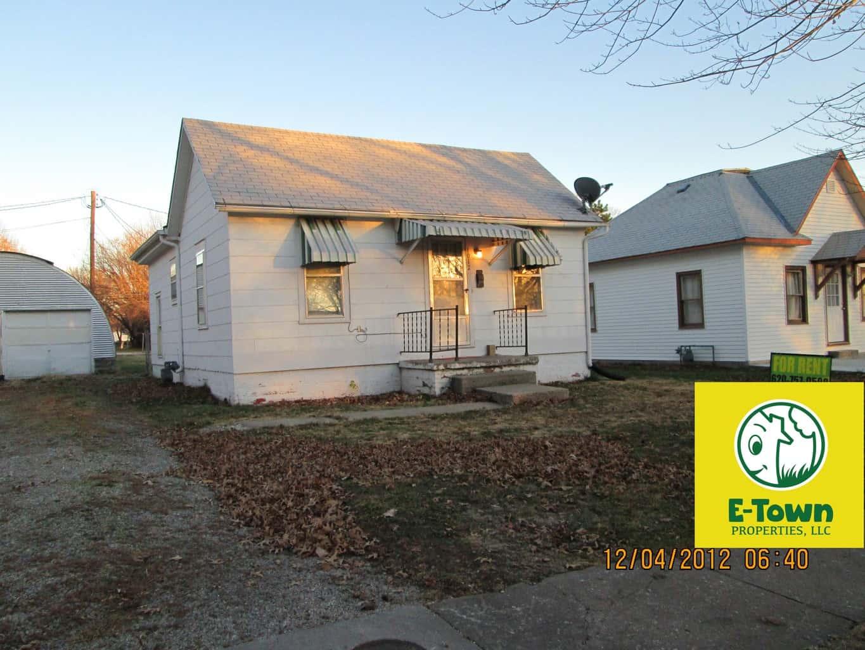1012 Sunnyslope Street, Emporia, KS — 1 Bedroom, 1 Bath House for Rent